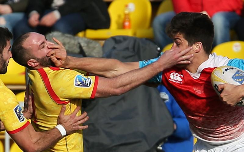 """Pēc zaudējuma Spānijai Krievija iesniedz protestu """"Rugby Europe"""""""