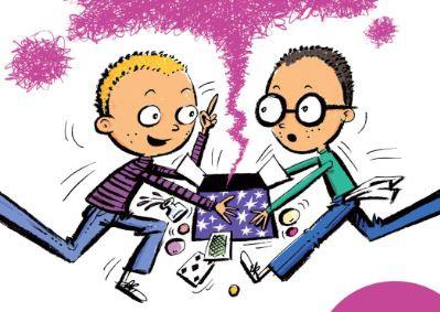 """Izdevniecība """"Pētergailis"""" izdevusi čehu autora Miloša Kratohvīla trešo grāmatu bērniem """"Burvestībnieki"""""""