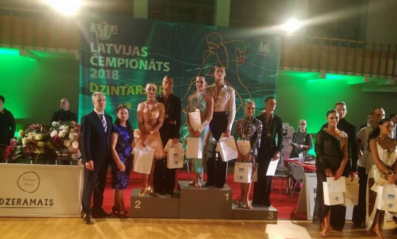 Noskaidroti šī gada čempioni Latīņamerikas dejās
