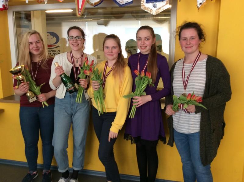 Par Latvijas junioru kērlinga čempioniem kļūst Bremanes un Vonda komandas