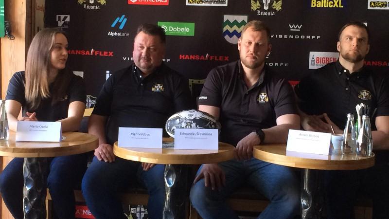 """Regbija klubs """"Livonia"""" cer ar profesionālu attieksmi cīnīties par tituliem"""