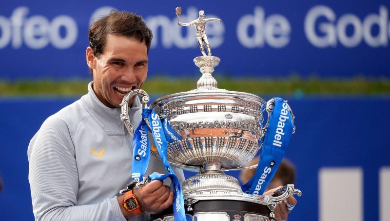 Neaizskaramais Nadals 11. reizi uzvar Barselonā