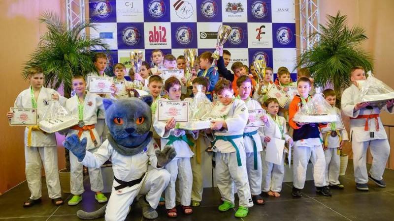 Sporta manēžā notiks Baltijas lielākais bērnu un jauniešu džudo turnīrs