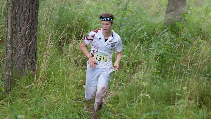 Orientieristam Upītim 20. vieta pasaules junioru čempionāta sprinta distancē
