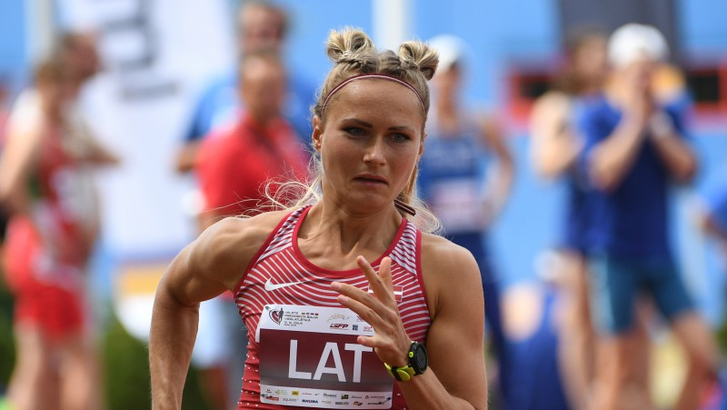 """Velvere: """"Jaunais Latvijas rekords parāda, ka šis gads būs vēl labāks"""""""