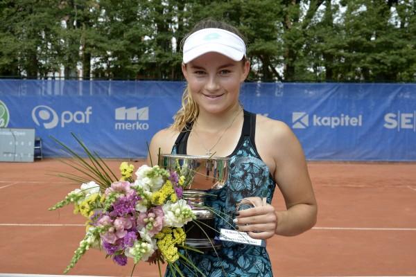 Vismane Igaunijā izcīna pirmo ITF titulu