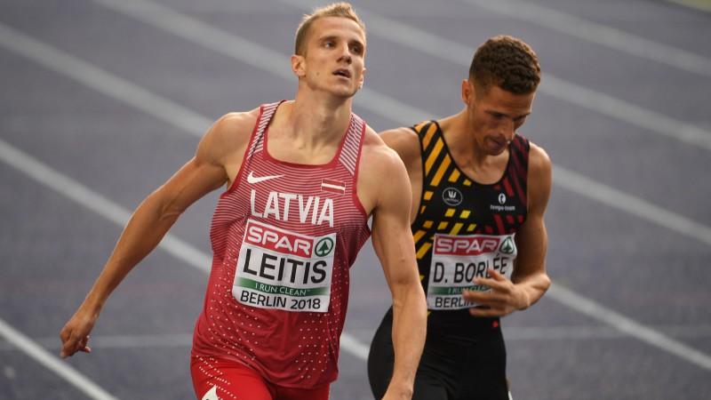 Leitis otro dienu pēc kārtas labo Latvijas rekordu, bet finālā netiek