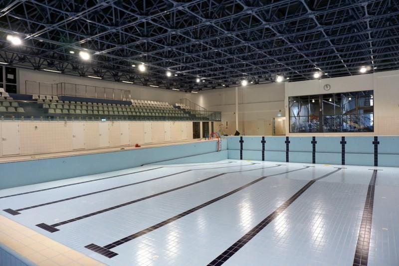 Septembra beigās atklās ar 5,4 miljonu eiro valsts dotāciju izbūvēto Valmieras peldbaseinu