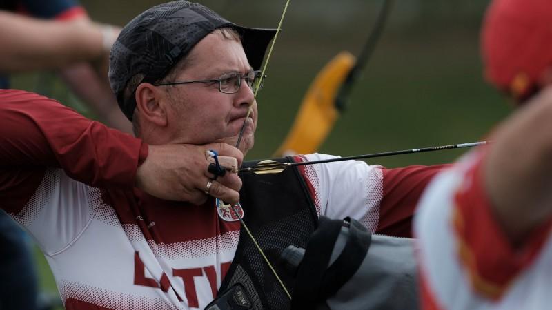 Paraolimpiskajiem loka šāvējiem Mellei un Jonastam ļoti pieticīgi rezultāti EČ
