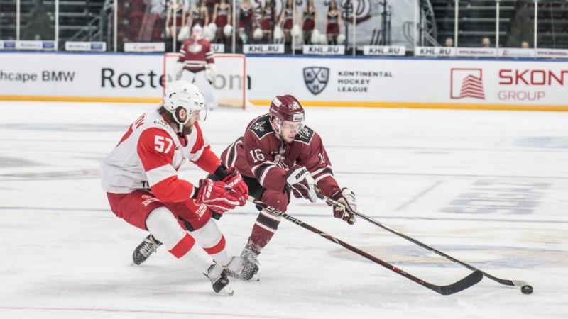 ''Dinamo'' nespēj atgūties no vājā sākuma un atzīst ''Spartak'' pārākumu