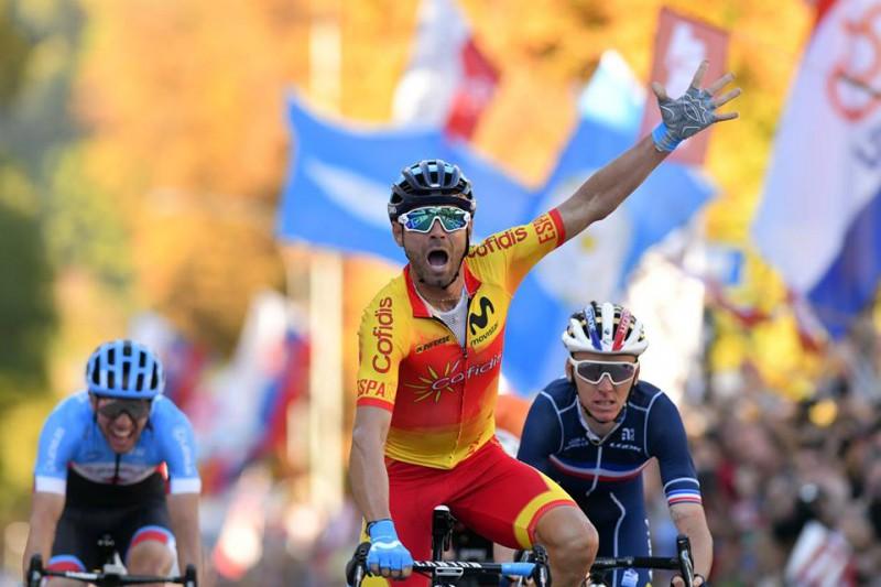Valverdem pirmais PČ zelts; Skujiņš smagajā trasē finišē 62. vietā