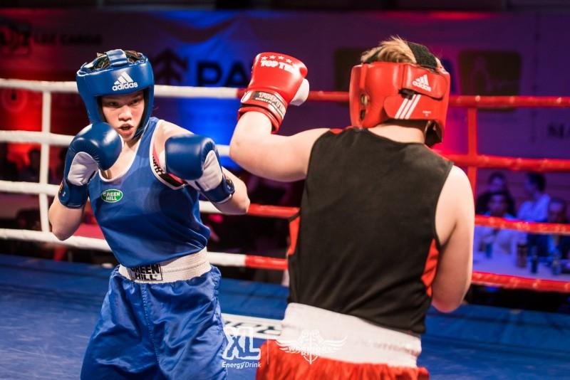 Latvijas olimpiskā boksa cerība Amanda Millere cīnīsies ar Dāliju Baldovsku