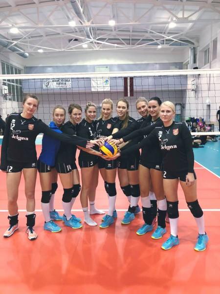 """Latvijas kausā volejbolā Jurdža izcīna """"zelta setu"""", bet uzvar RSU/MVS"""