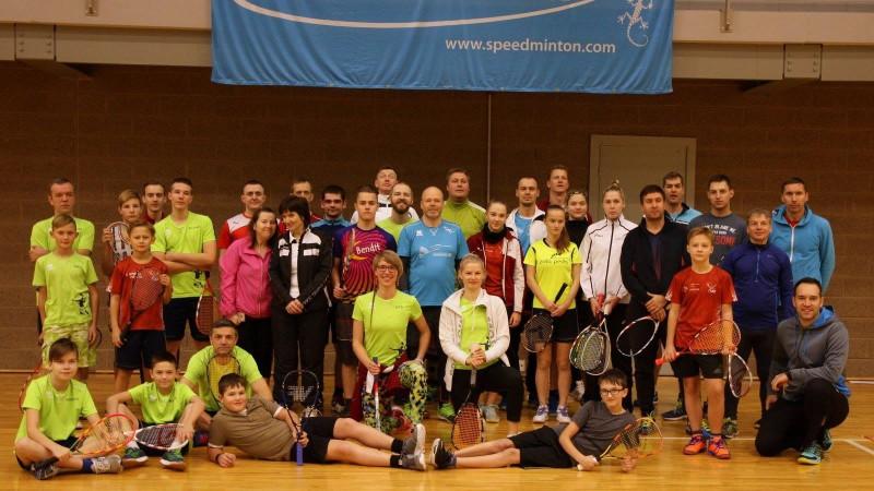 Mārtiņš Žogots un Santa Paegle kļūst par Latvijas čempioniem krosmintonā