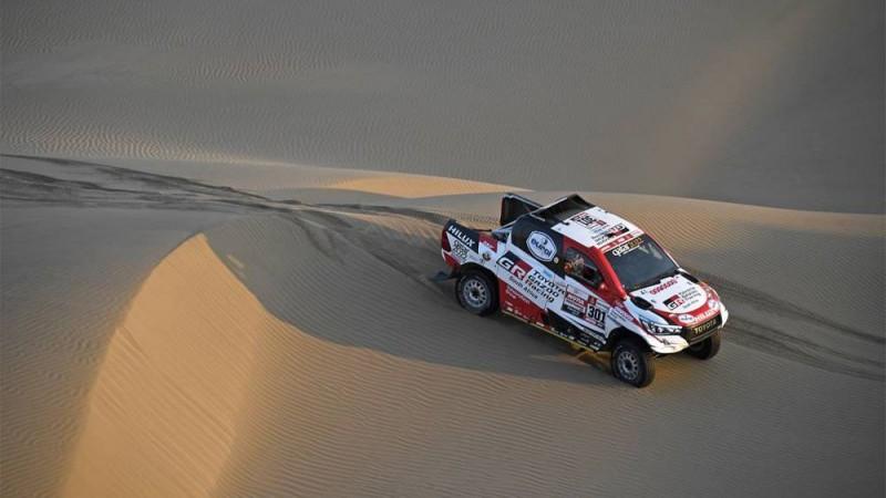 El-Atija uzvar Dakaras ceturtajā posmā, motociklu klasē līderu maiņa