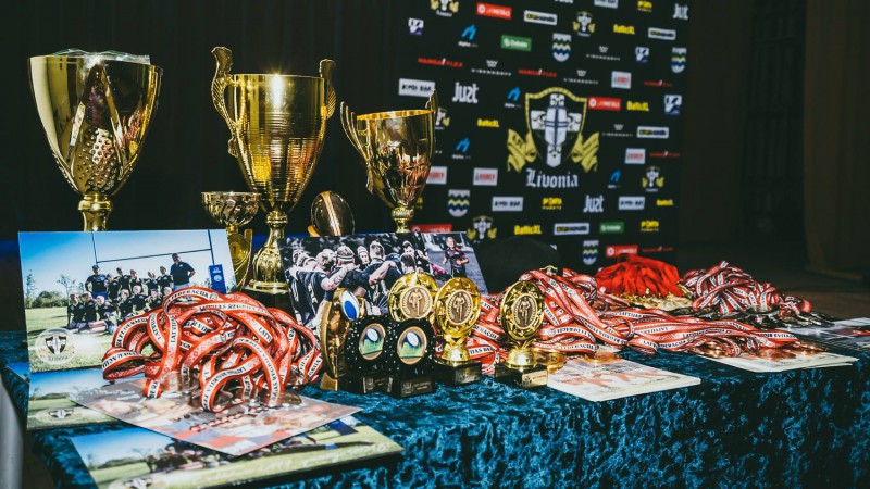 """Regbija klubs """"Livonia"""" ar uzvaru LČ apsveic par spēļu sarunāšanu diskvalificētu komandu"""