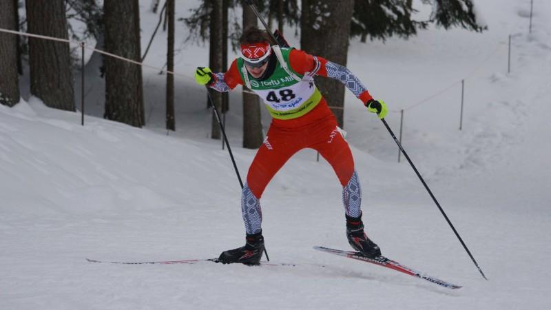 Biatlonistam Deksnim 41. vieta pasaules jaunatnes čempionāta sprintā