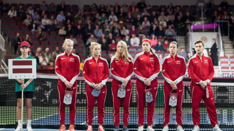 """""""Arēna Rīga"""" tiek atbrīvota un uzņems Latvijas tenisistu dueli pret Vāciju"""