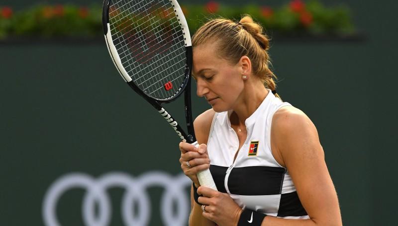 Kvitova nenotur lielu pārsvaru pret Venusu, Vozņacki zaudē Aleksandrovai
