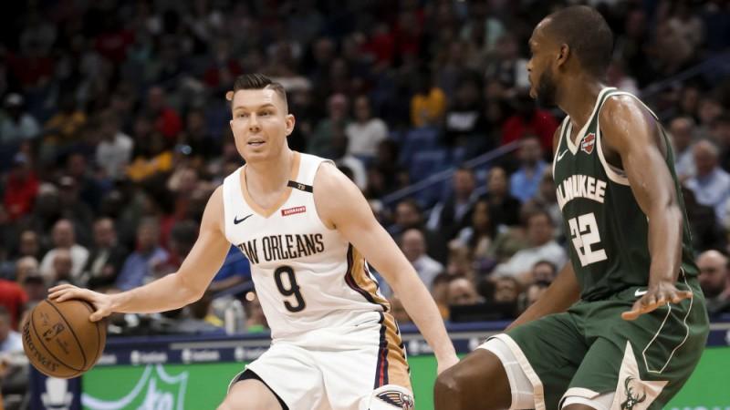 """Dairis Bertāns """"Pelicans"""" zaudējumu noskatās no rezervistu soliņa"""