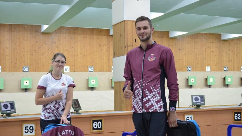 Latvijas šāvēji dalību Pasaules kausa posmā noslēdz ar 49. vietu komandu sacensībās