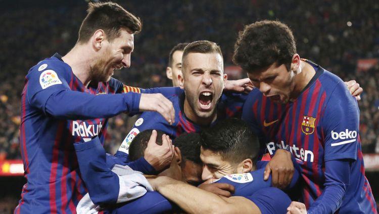 """Svaress un Mesi beigās nokārto """"Barcelona"""" uzvaru pār """"Atletico"""" un 11 punktu pārsvaru"""