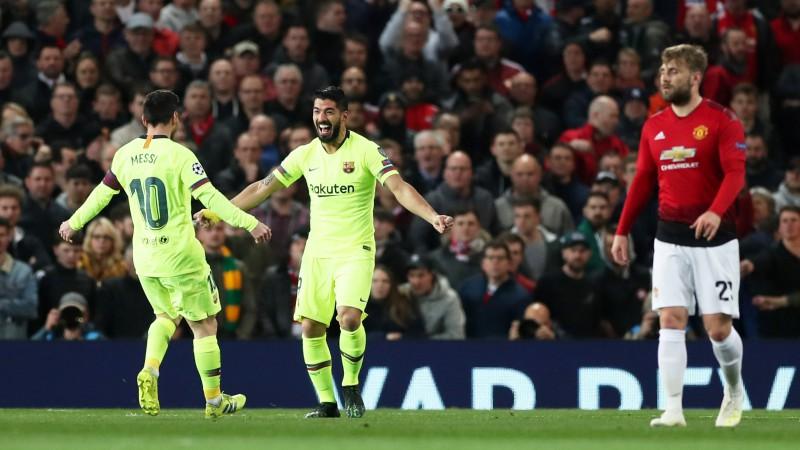"""""""United"""" parāda labu sniegumu, taču cieš minimālu sakāvi pret """"Barcelona"""""""