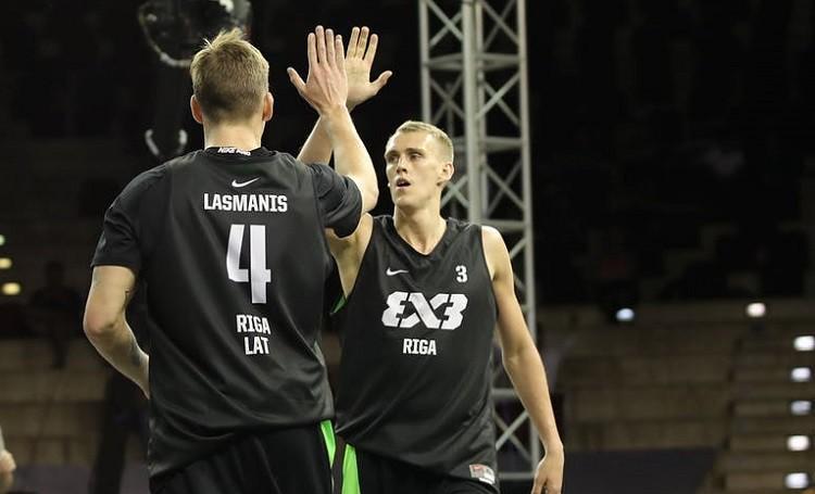 Latvijas 3x3 basketbolisti iekļūst Pasaules tūres posma ceturtdaļfinālā