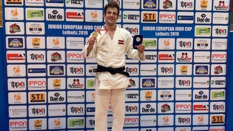 Džudists Gerkens uzvar Eiropas junioru kausa posmā