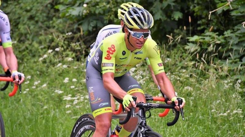 """Liepiņš ceturtais """"Ronde Van Limburg""""; Skujiņš 46. """"Criterium du Dauphiné"""""""