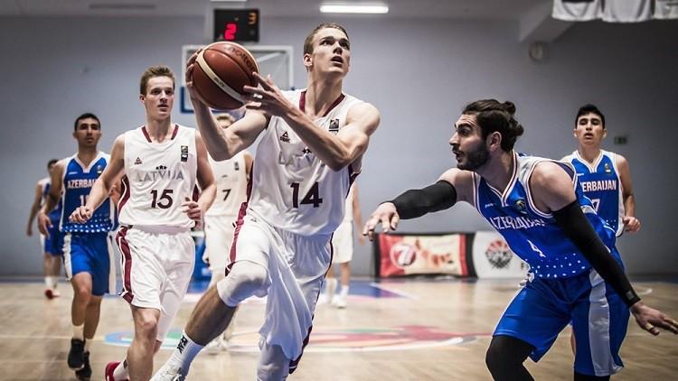 U20 jaunieši ielaiž par 25 punktiem mazāk un revanšējas Igaunijai