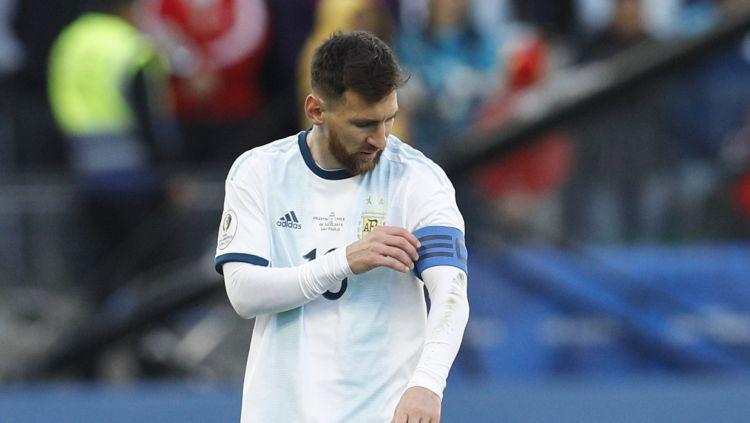 """Mesi neatnāk pēc medaļas un apsūdz """"Copa America"""" organizētājus korupcijā"""