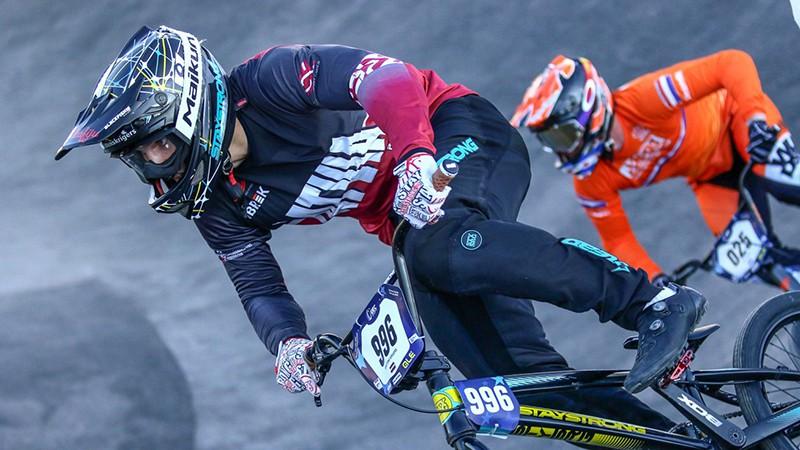 Latvijas BMX braucēji paliek soli no ceturtdaļfināla PK superkrosā 10. posmā