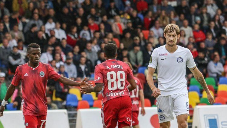 """""""Liepāja"""" Minskā spēlē lieliski, pieveic """"Dinamo"""" un iesoļo nākamajā kārtā"""