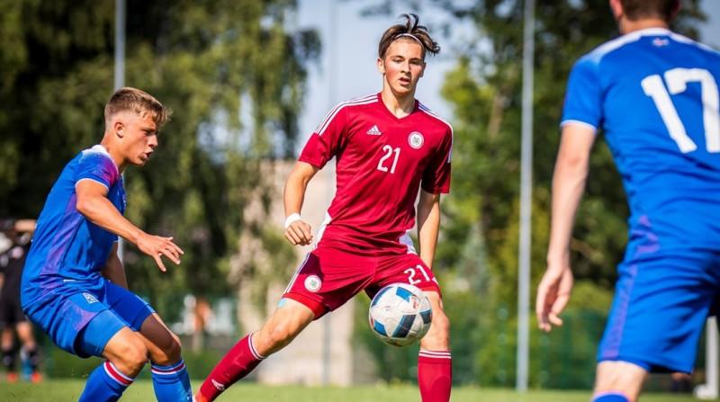 Latvijas U18 izlase zaudē Eiropas finālturnīra dalībniecei Islandei