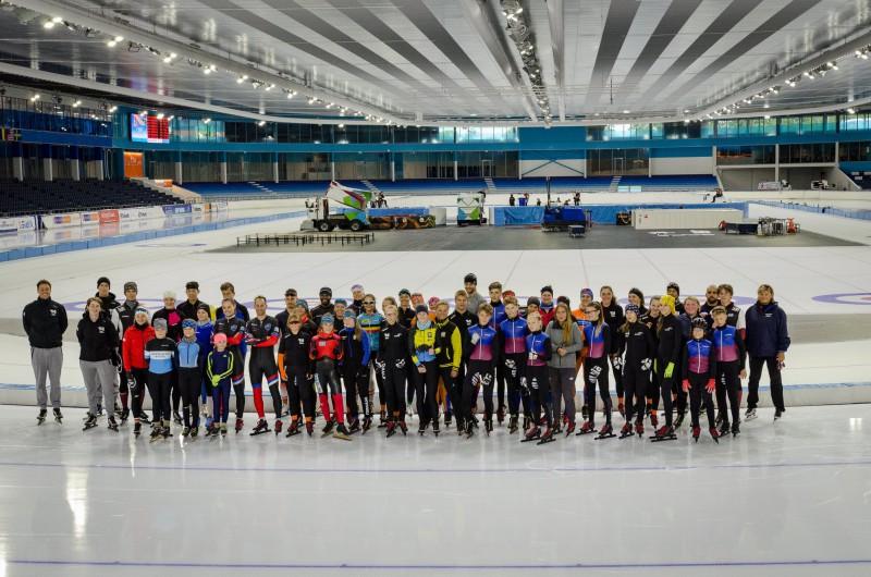 H.Silova sarūpētajā ātrslidošanas treniņnometnē Holandē uzstādīti daži valsts rekordi