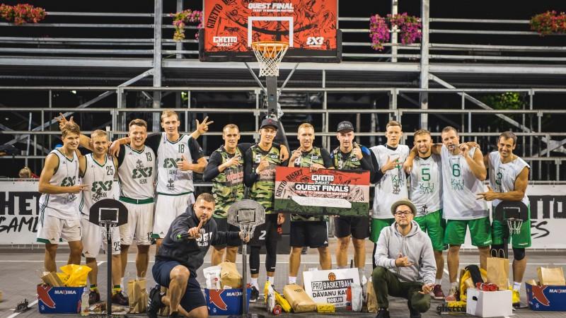 """15. augustā Grīziņkalnā """"Ghetto Basket"""" Pro komandu finālsacensības"""
