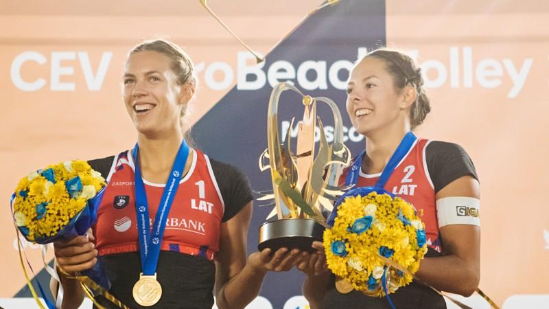 Ar dāmu turnīru Jūrmalā startēs EČ pludmales volejbolā