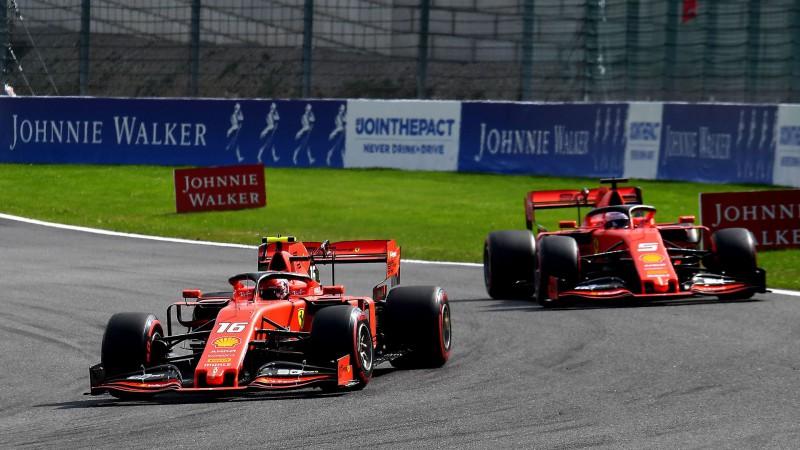 """""""Ferrari"""" piloti Moncā startēs ar uzlabotiem motoriem"""