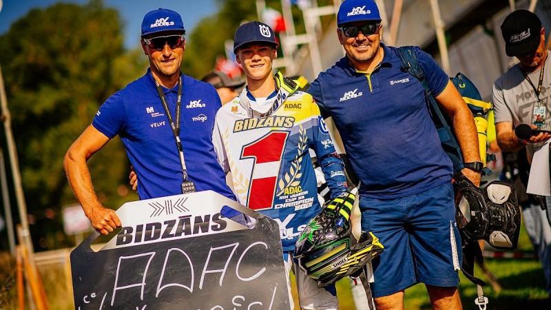 """Bidzāns kļūst par Vācijas """"ADAC MX"""" čempionu"""
