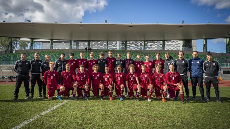 Latvijas U17 izlase Federācijas kausu noslēdz ar zaudējumu Turcijai