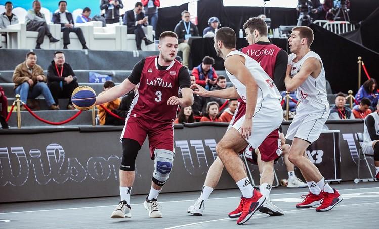 Latvijas U23 izlase 3x3 Pasaules kausa ceturtdaļfinālā zaudē Serbijai