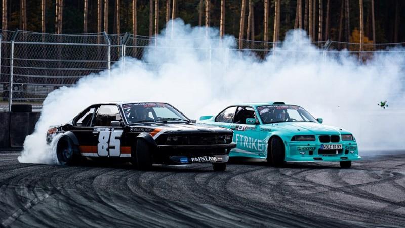 Baltijas drifta noslēgumā Biķerniekos tituli izšķiras vien fināla braucienos