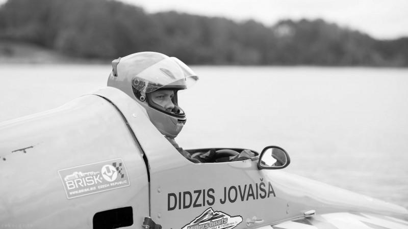 Gājis bojā Latvijas čempions ūdens motosportā Didzis Jovaiša