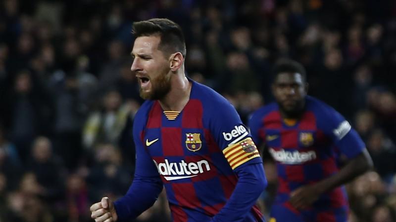 """Tiešo brīvsitienu karalis Mesi sabojā """"Barcelona"""" audzēkņa Garsijas debiju"""