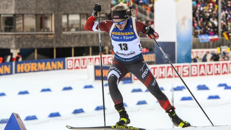 Pasaules čempionāts biatlonā turpināsies ar sprintu dāmām