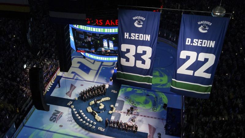 Iemūžināti Sedīnu numuri, Pastrņāks ar hat-trick izvirzās NHL snaiperu vadībā