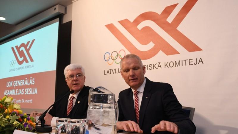 Tikmers un Lejnieks - tikai divi kandidāti uz LOK galvenajiem amatiem
