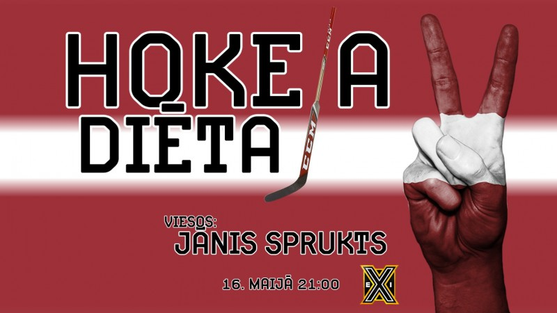 "Šovakar ""Hokeja diēta"" ar Jāni Spruktu – Latvija pret ASV"