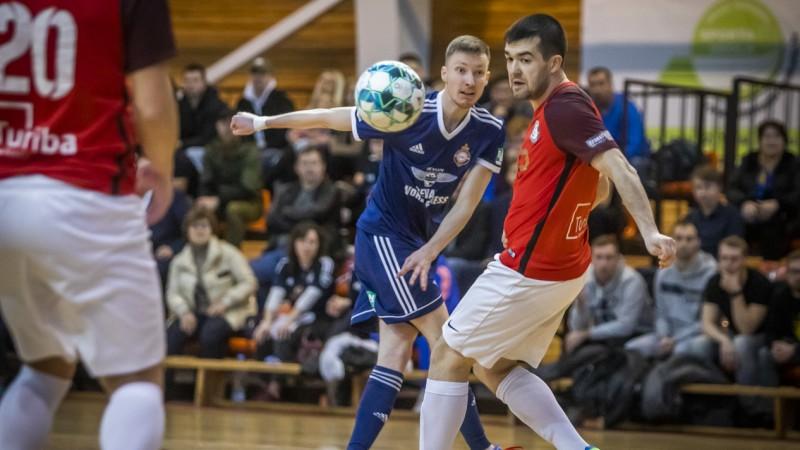 Sportacentrs.com TV tiešraidē sāksies telpu futbola Virslīgas finālsērija